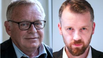 Permalink to: Professor Jostein Gripsrud and Postdoc Hilmar Mjelde at Populism-workshop