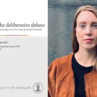 Ida Andersen: Instead of deliberative debate, 2020